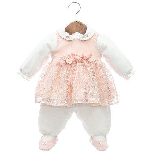 134ad0dc8e Vestido e Macacão Pietra Rosa - Beth Bebê