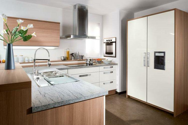 Muebles de cocina de madera laminada cocina pinterest for Muebles para cocinas pequenas modernas