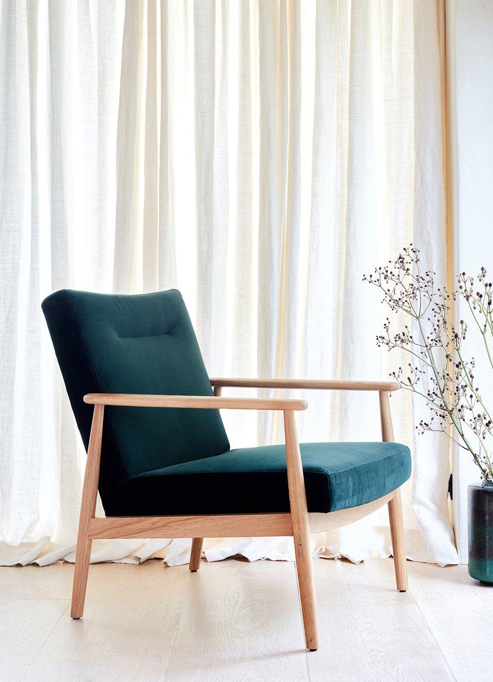 Un fauteuil bas vert bouteille, Alinea | Great objects en 2019 ...