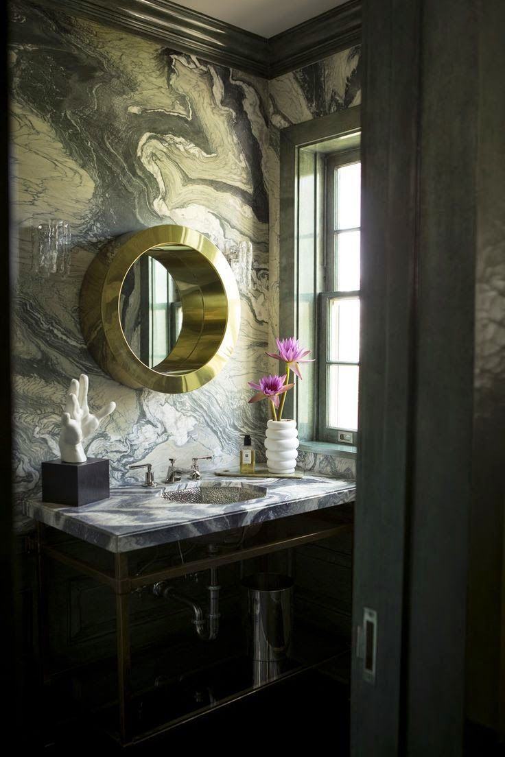 The Green Room Interiors Chattanooga, TN Interior Decorator Designer: Mad  For Marbleized