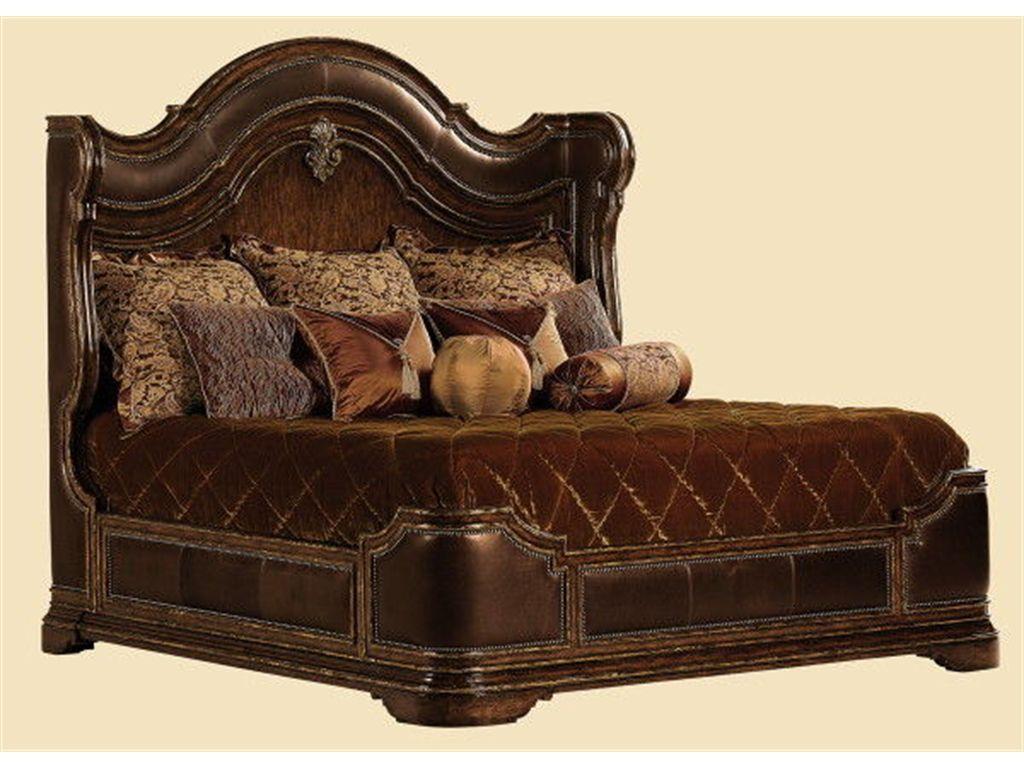 Marge Carson Bedroom Umbria Bed Um91 Boyles Furniture Mocksville Nc