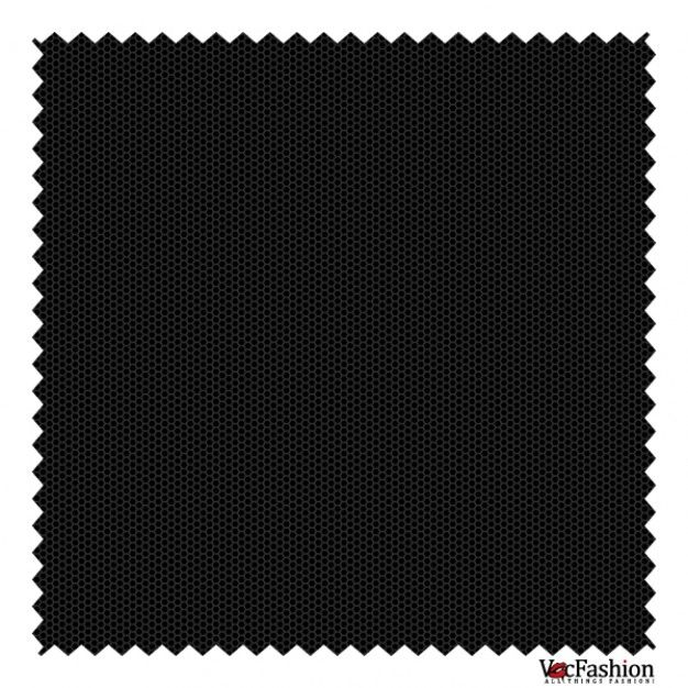Black knitted honeycomb vector graphic Free Vector
