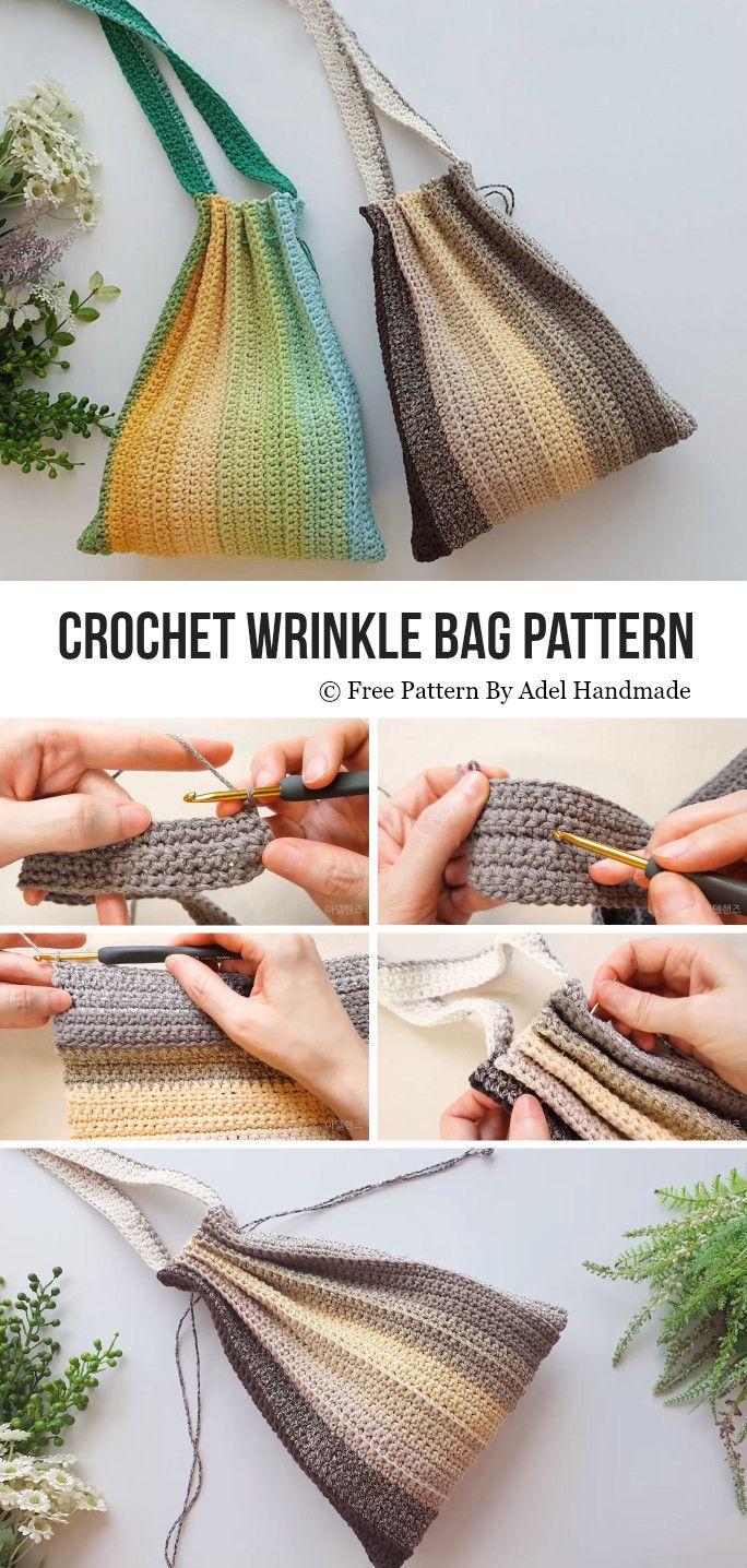 Photo of Wrinkle Bag Free Crochet Pattern