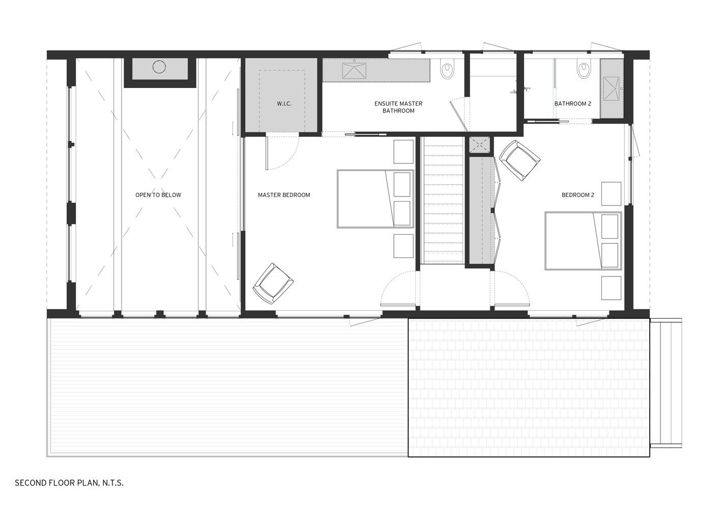 Gallery Of Cedar And Stone House Mago Architecture 16 Stone House House Plans Floor Plans