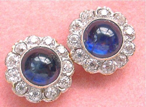 Sapphire earrings... wedding maybe??