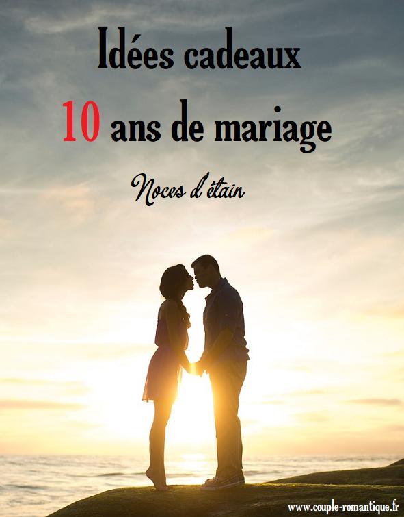 Trouvez Une Idée De Cadeau Pour 10 Ans De Mariage Diy