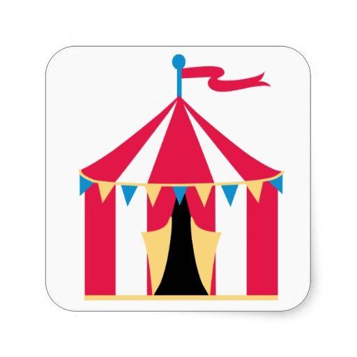 sc 1 st  Pinterest & Circus tent sticker