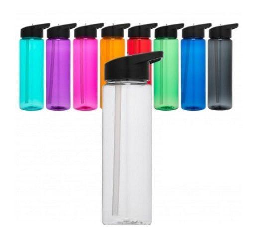 24 Oz Tritan Water Bottle Single Wall Plastic Water Bottle