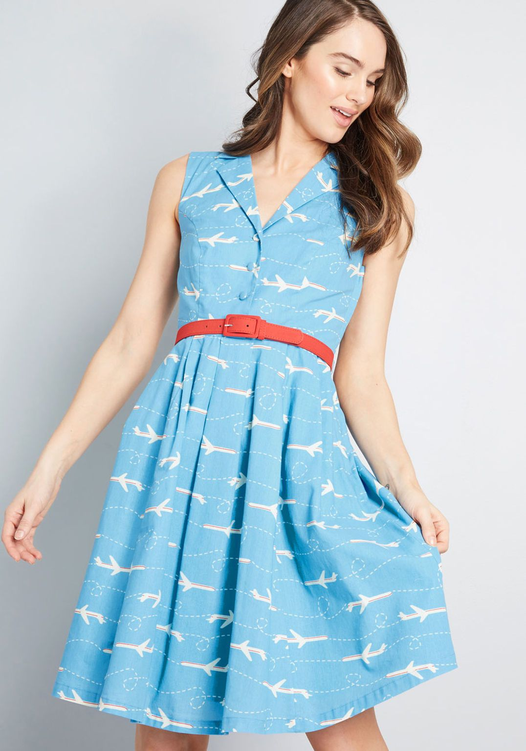 b21ea92695b It's an Inspired Taste Shirt Dress | Material Desires | Modcloth ...