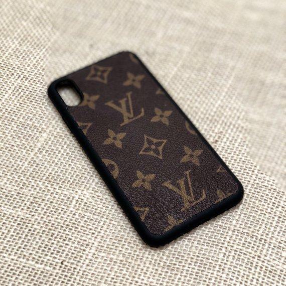 Louis Vuitton Case Lv Case Iphone X Xs Iphone 8 Iphone Xs Max Xr Iphone 7 Iphone 8 Plus Lv Classic Brown Iphone Iphone Models Iphone Cases
