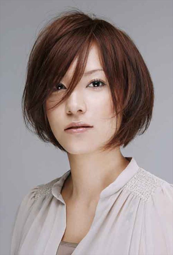 hairstyle-for-square-face-asian-women-6.jpg (600×882)   hair style ...
