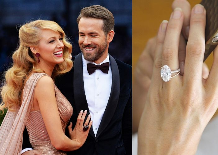Check Out Blake Livelys Oval Pink Diamond Engagement Ring And Ones Just Like It