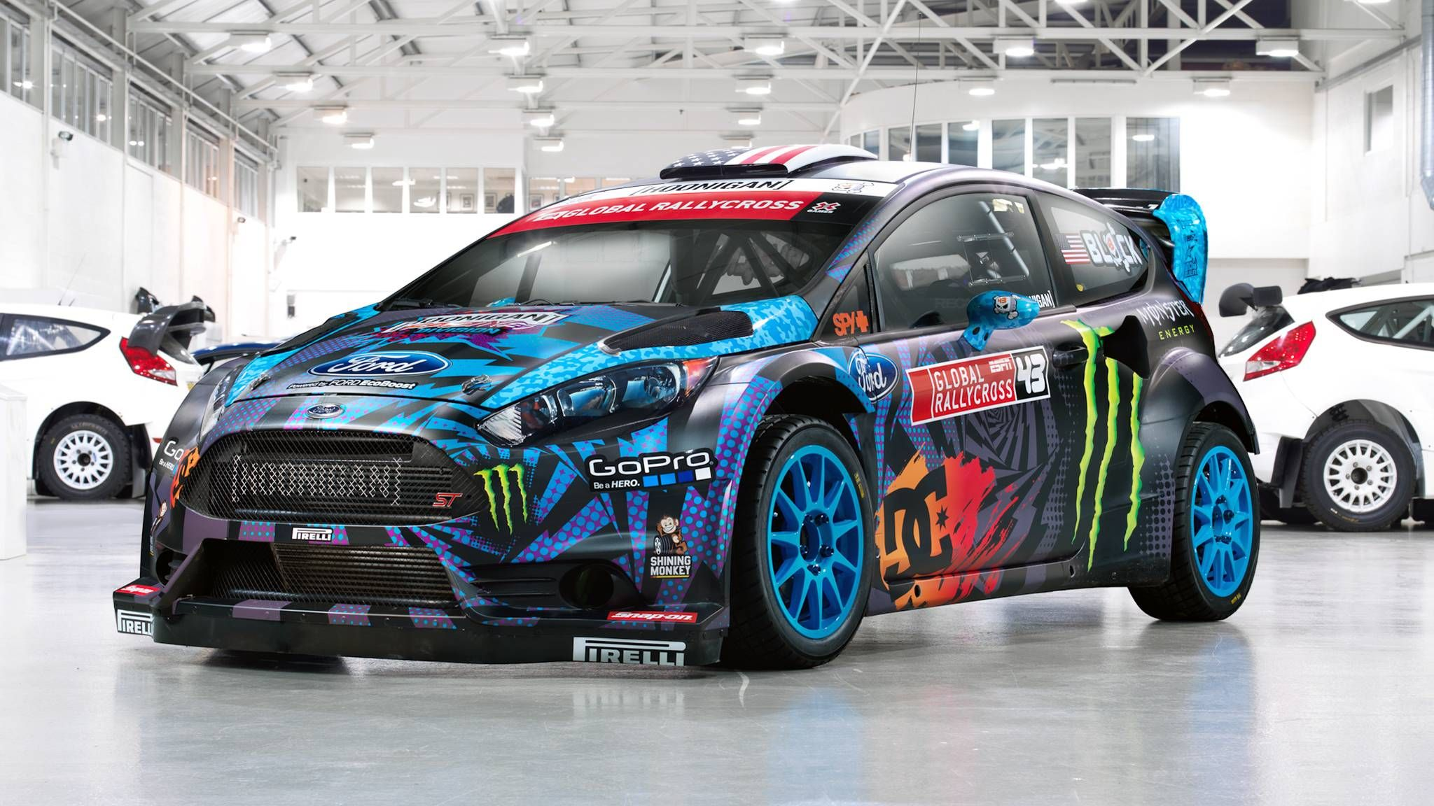Car Ken Block Ford Mustang Wallpapers Hd Desktop And Mobile