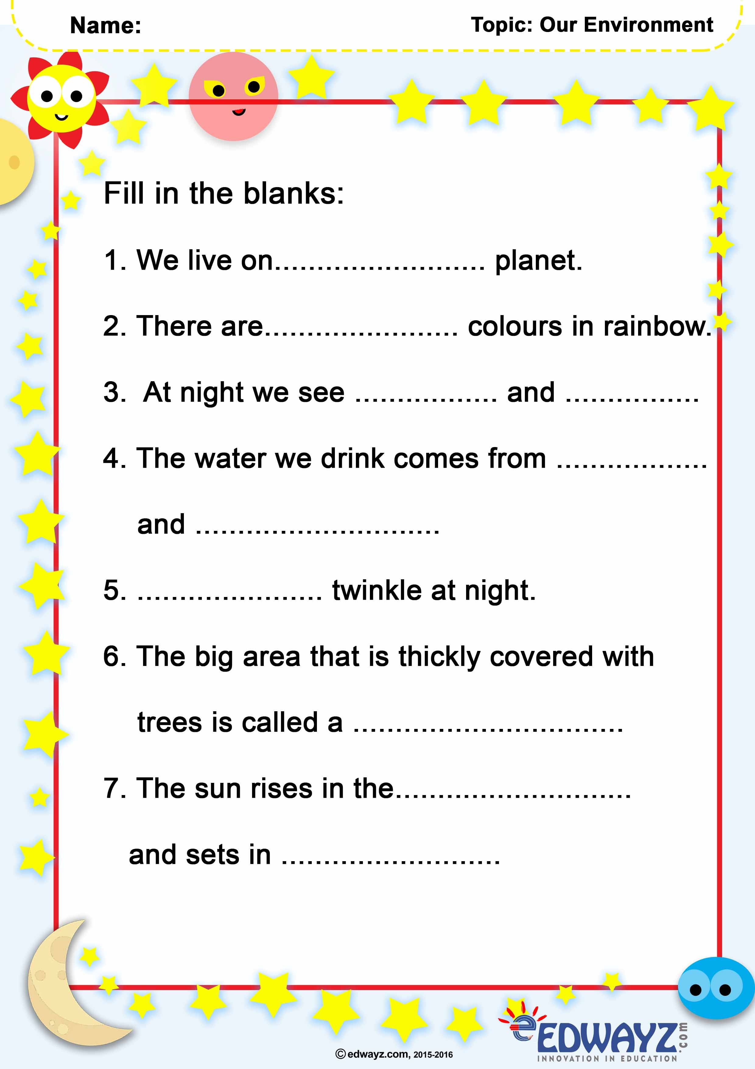 small resolution of 14 Edwayz Class 1 - EVS ideas   worksheets for class 1