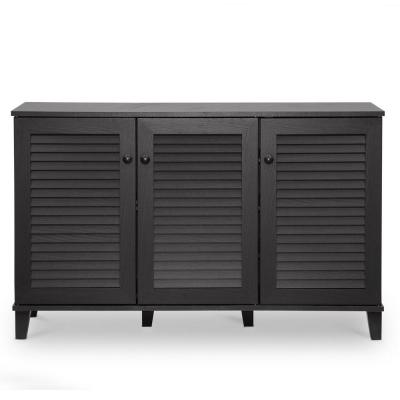 Brayden Studio 14-Pair Shoe Storage Cabinet