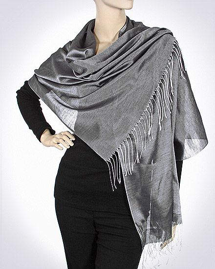Evening silk shawls beautiful soft divine for weddings ...