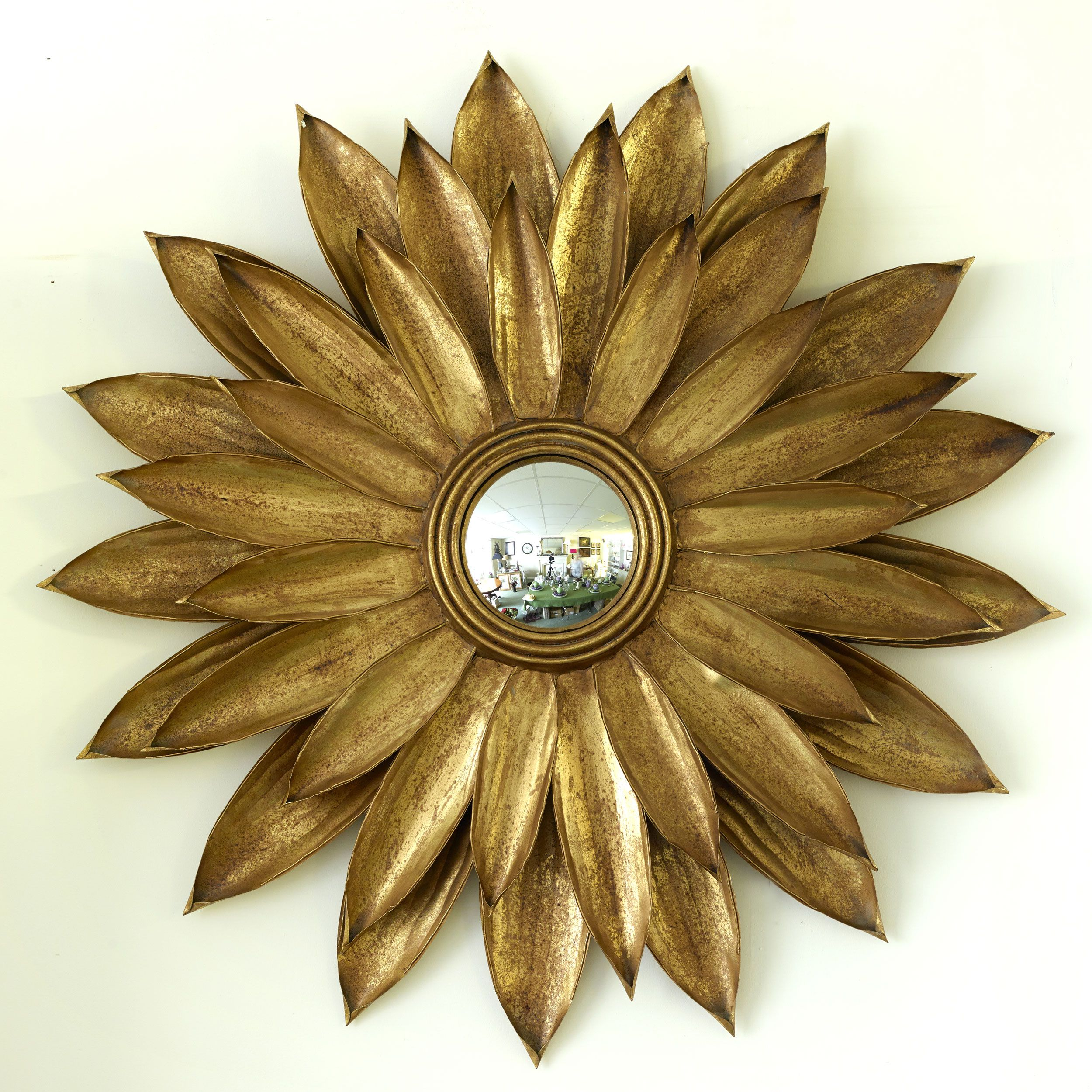 Sunflower Wall Mirror | Home accessories | Pinterest | Walls