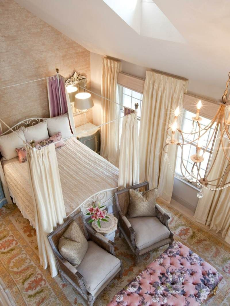 Chambre Provencale Idee Deco style campagne chic – laissez entrer l'ambiance provençale