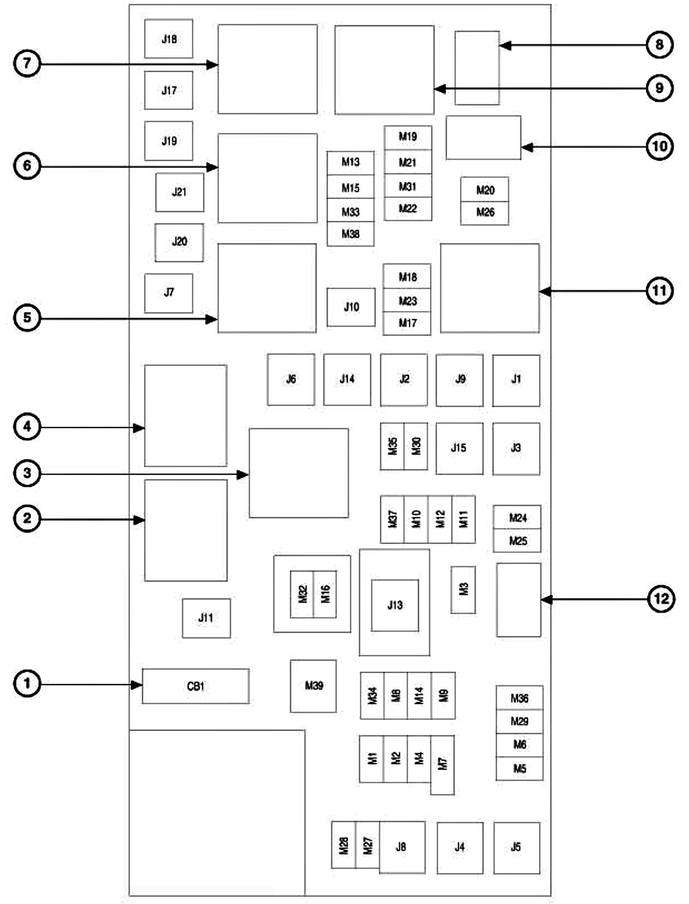 2006 jeep commander fuse box diagram jpeg http carimagescolay rh pinterest com 2006 jeep commander limited fuse box diagram 2006 jeep commander interior fuse box diagram
