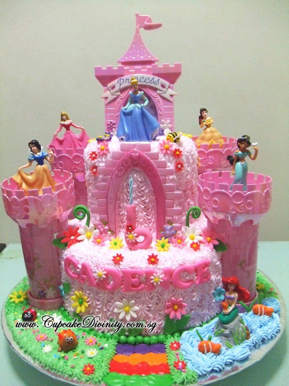 Disney Princess Cake Kit Castle