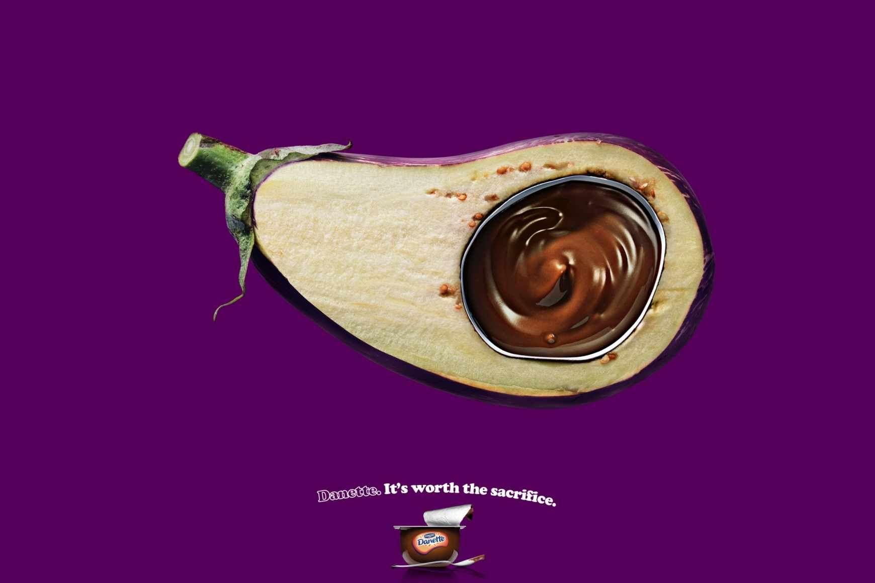 Danone Danette:#ads #marketing #creative #Print Ads #publicidad gráfica. Entre en el fantástico mundo de elcafeatomico.com para descubrir muchas más cosas! #advertising
