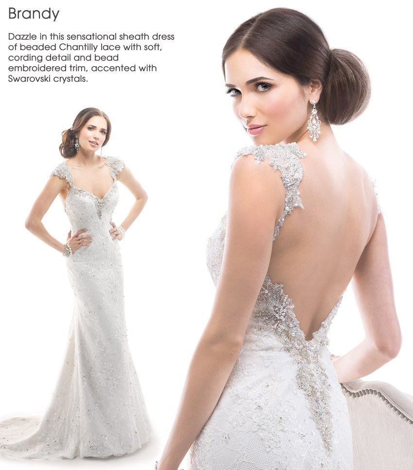 Wedding 2015 Dress Trend Dramatic Back Maggie Sottero