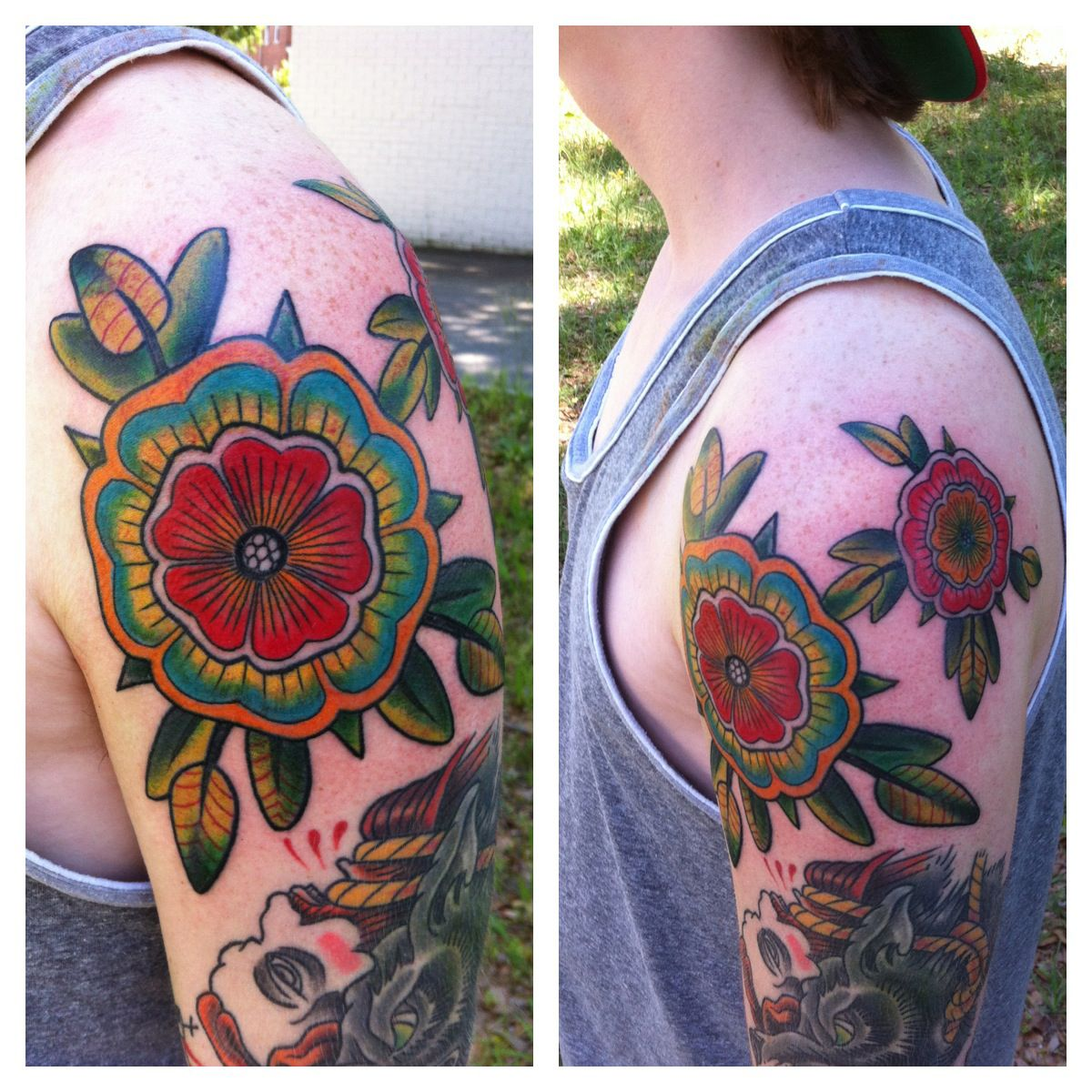 cactus flower tattoo google search tattoos pinterest cactus rh pinterest nz floral cactus tattoo floral cactus tattoo