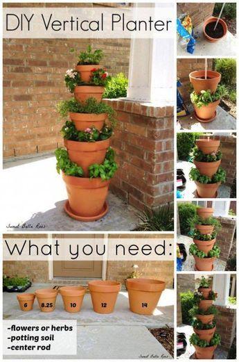 21 kreative DIY Ideen für Blumentöpfe, die euren Garten schöner