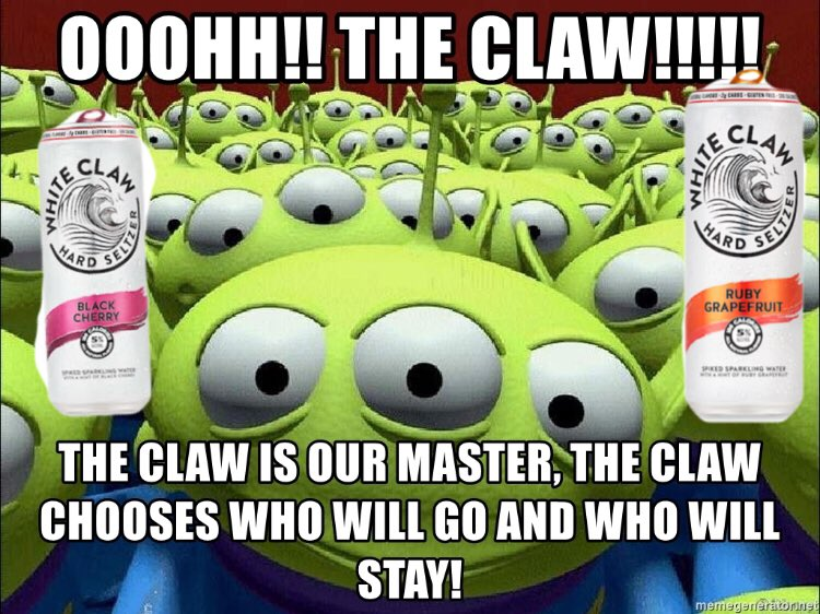 The Claw Drink Meme