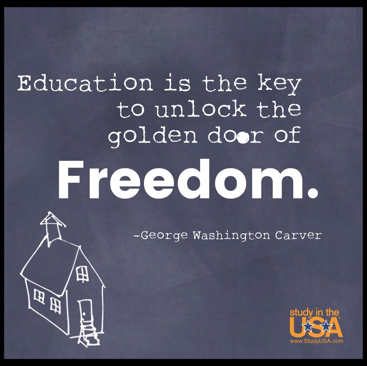 George Washington Carver Quotes Education Is The Key To Unlock The Golden Door Of Freedom~George .