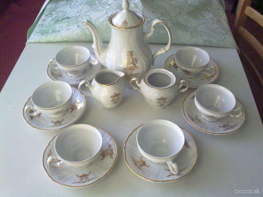 Čajová súprava Bernadotte - karlovarský porcelán