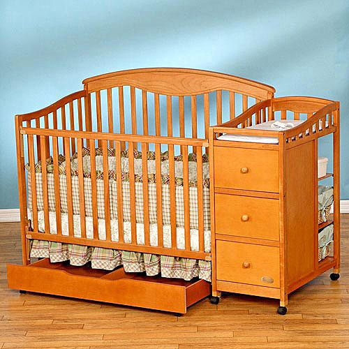 Simplicity Christina 4in1 Convertible Crib N Changer Combo