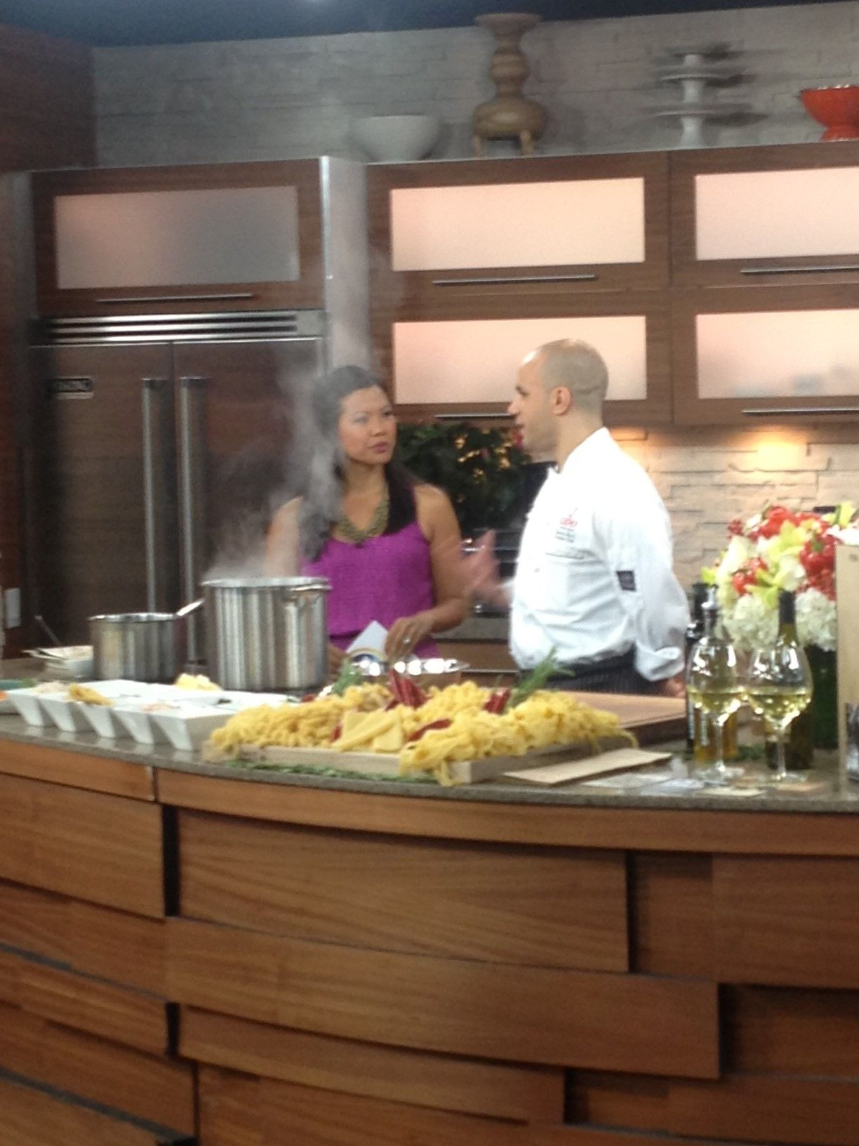 Executive Chef Saverio Macri Was A Guest On Breakfast Television