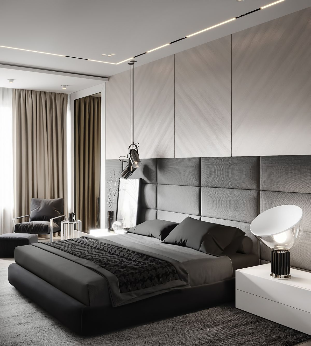 Check Out The Most Amazing Residential Interior Designs Ever Www Delightfull Eu Visit Us In 2020 Modern Bedroom Interior Luxurious Bedrooms Modern Bedroom Design