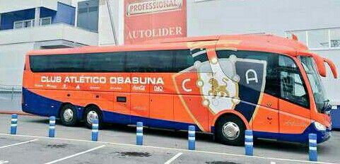 C At Osasuna Autobus Equipo De Futbol Bus