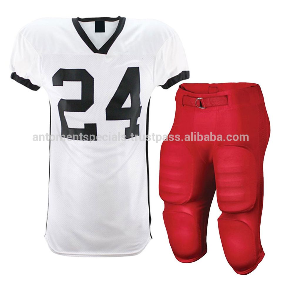 1c826def362 American Football Training Jersey With Screen Printed Logo