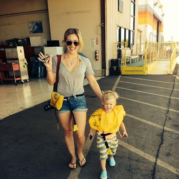 Cutest celebrity moms and their kids: Hilary Duff and son Luca