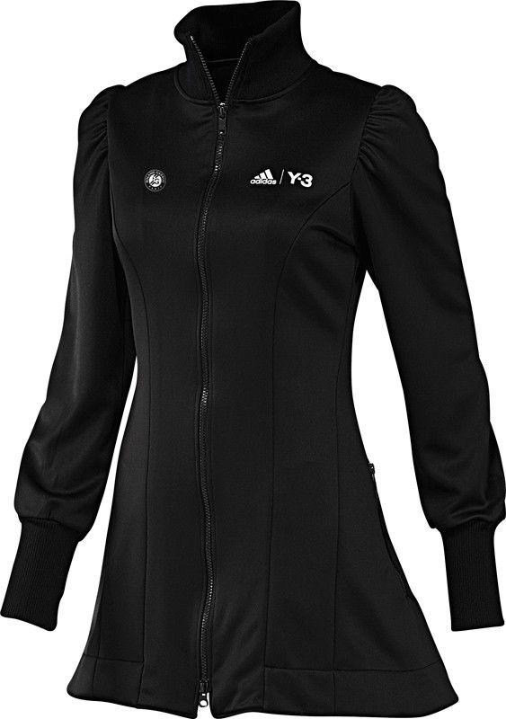 a3dc7eeaf206 adidas Dames adizero Y3 Roland Garros Premier Jacket