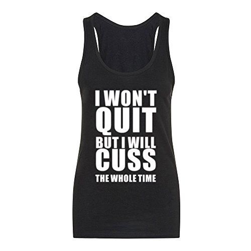 Fannoo Tank Tops for Women-Womens Funny Saying Fitness Workout Racerback Tank To... 13