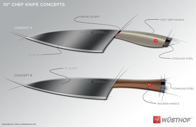 Chris Cunningham Sketches Knife 05 Png Kitchenware Design