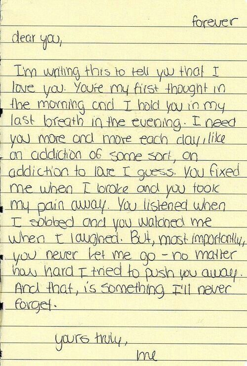 Love letter love Pinterest Relationships, Bae quotes and Deep - love letter to my husband