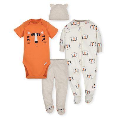 96a586ae4af4e Gerber Newborn 4-Piece Tiger Take Me Home Set Pink/black | Products ...