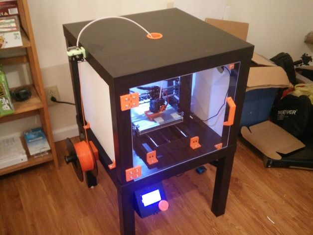Ikea Enclosure For Monoprice Maker Select Wanhao Duplicator I3 By