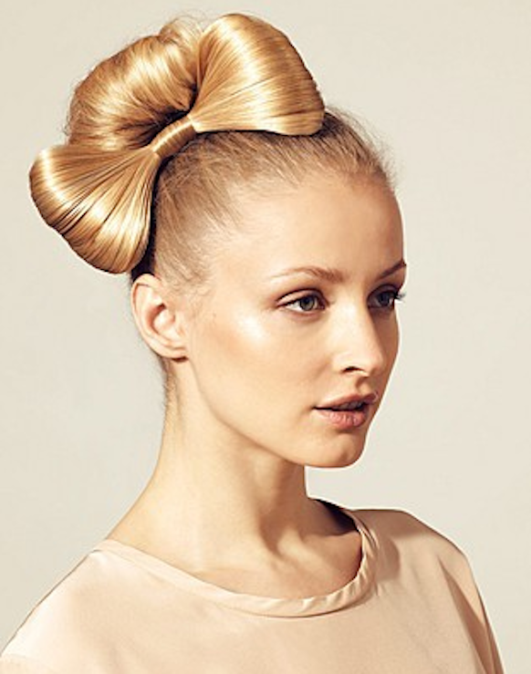 Sensational 1000 Images About Hair Bow Hairstyle On Pinterest Updo Wedding Short Hairstyles Gunalazisus