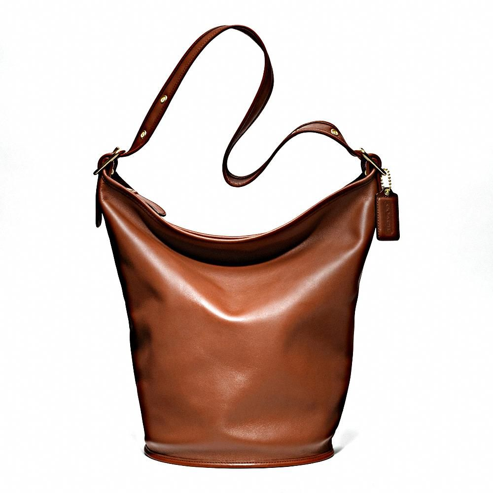 The Classic Duffle in Leather from Coach