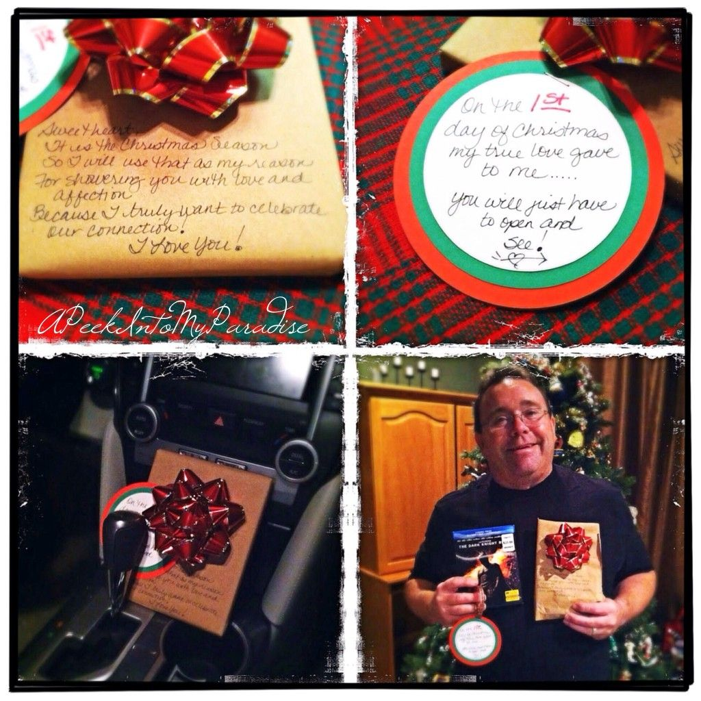 Gift Ideas For The 12 Days Of Christmas: 12 Days Of Christmas Love For Your Husband