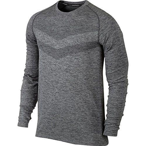 Men's Miami Heat adidas White On Court climacool Aeroknit Long Sleeve T Shirt