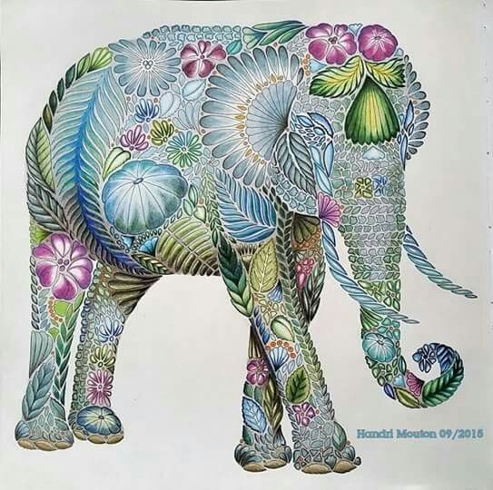 Really Into The Idea Of A Millie Marotta Style Tattoo Where The Animal Kingdom Colouring Book Millie Marotta Coloring Book Millie Marotta Tropical Wonderland