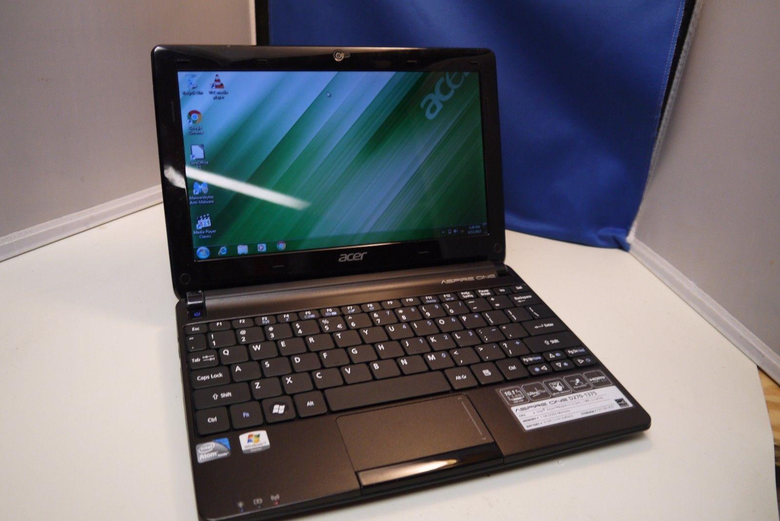Acer Aspire One D270 AOD270 1375 101in 320GB Intel Atom Dual