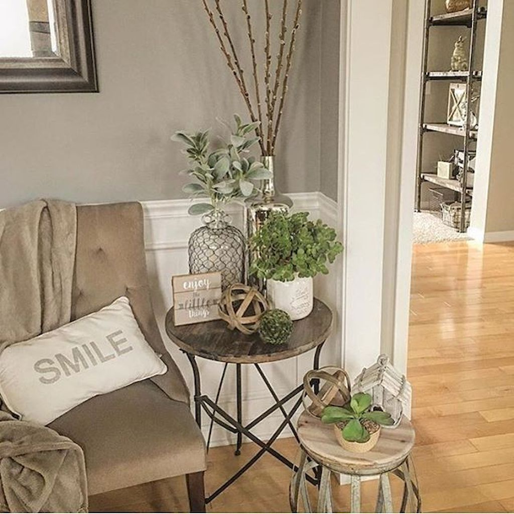 60 Makeable Designs of Farmhouse Side Table You Must See ...